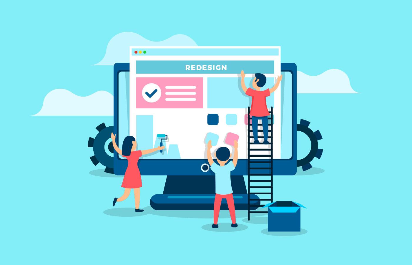 6 lý do nên cân nhắc cho việc nâng cấp website