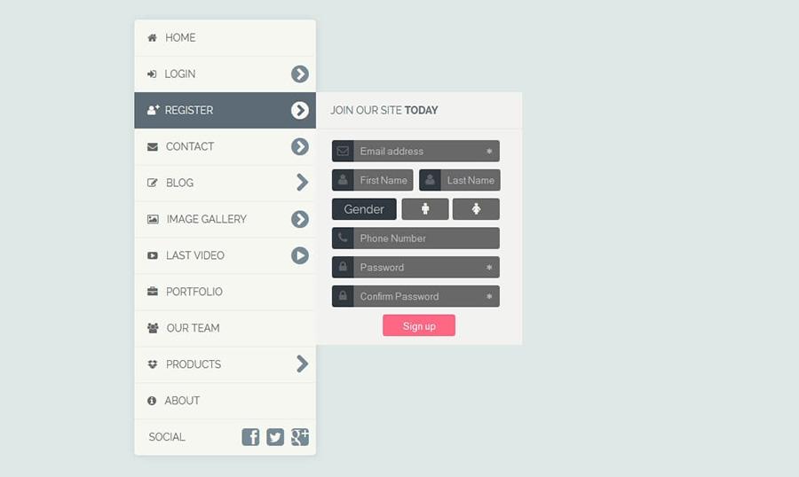 Cách thiết kế menu website hiệu quả