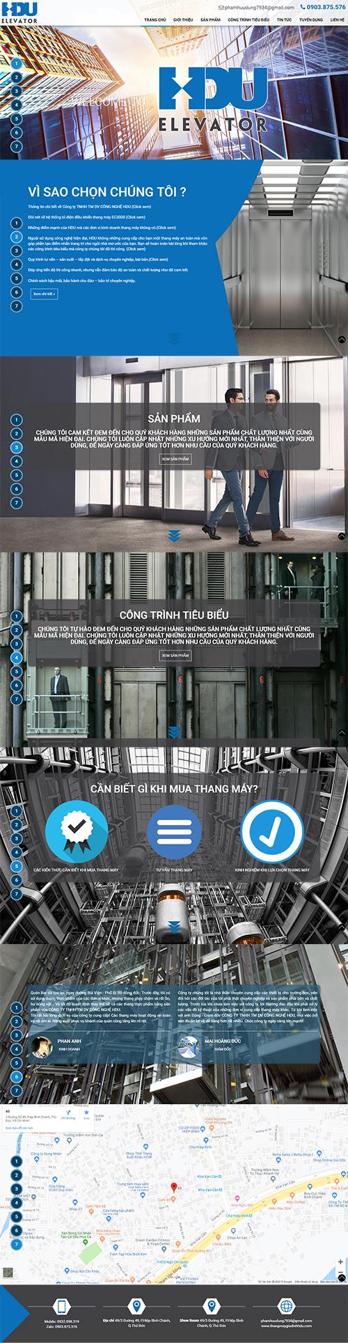 Mẫu website bán hàng CenaStore